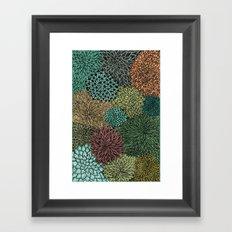 Ink  Pattern No.4 Framed Art Print