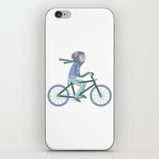 Werewolf Goes For a Ride iPhone & iPod Skin