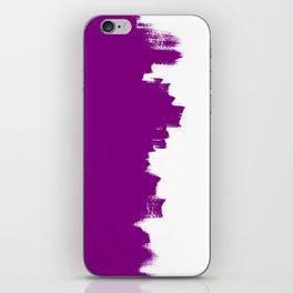 Purple balance iPhone Skin