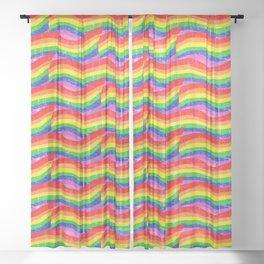 Unicorn Bacon Sheer Curtain