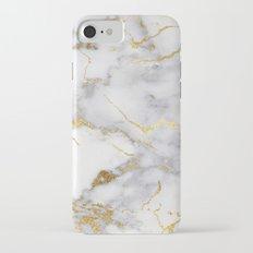 Italian gold marble Slim Case iPhone 7