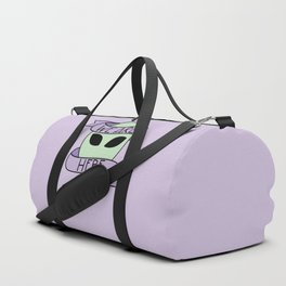We Are Here (Purple) Duffle Bag