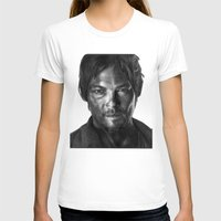 daryl T-shirts featuring Daryl Dixon by Mike Robins