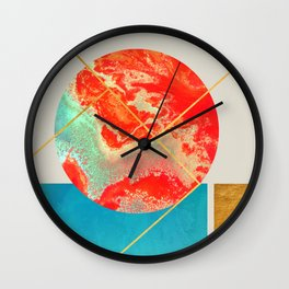 Earth & Sea #society6 #decor #buyart Wall Clock