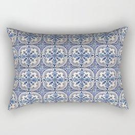 Azulejo — Portuguese ceramic #14 Rectangular Pillow