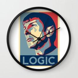 Logic Poster Wall Clock
