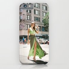 Green Dress in Downtown LA iPhone 6s Slim Case