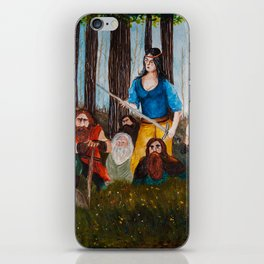 Snow-White and the Seven Dwarves iPhone Skin