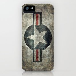 US Air force style insignia V2 iPhone Case