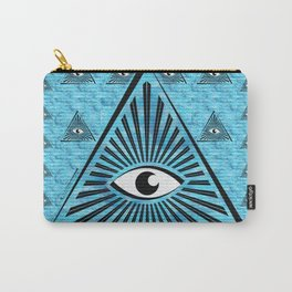 The All-Seeing Eye Carry-All Pouch