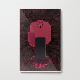 Hero from Hell Metal Print