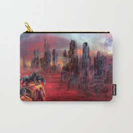 Wolves of Future Past landscape Carry-All Pouch
