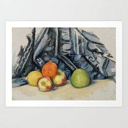 Apples and Cloth Art Print