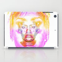 depression iPad Cases featuring The Faces of Depression by Tobia St Germain