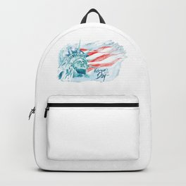 Happy National Freedom Day Backpack