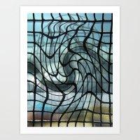 vertigo Art Prints featuring Vertigo by Jose Luis