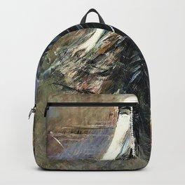Giovanni Boldini - Portrait of Donna Franca Florio - Digital Remastered Edition Backpack