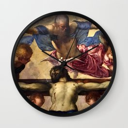 "Tintoretto (Jacopo Robusti) ""Holy Trinity"" Wall Clock"