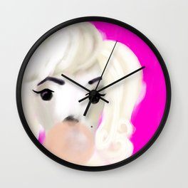 You Know Her Name Wall Clock