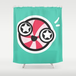 Starry-eyed Shower Curtain
