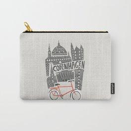 Copenhagen Cityscape Carry-All Pouch