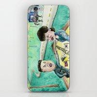 korean iPhone & iPod Skins featuring Korean Sandbox  by Kyle McDonald