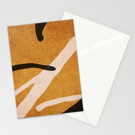 ABSTRACT ALPHABET / Script T Stationery Cards