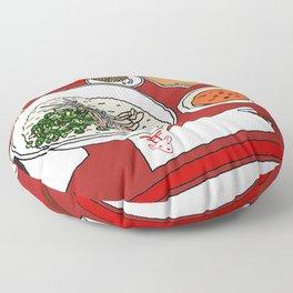 Happy Dim Sum Platter Floor Pillow