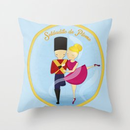 Soldadito de Plomo Throw Pillow