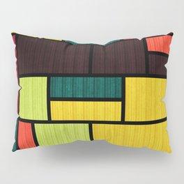 Mondrian Bauhaus Pattern #09 Pillow Sham