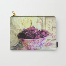 Teacups and Roses 5 Carry-All Pouch