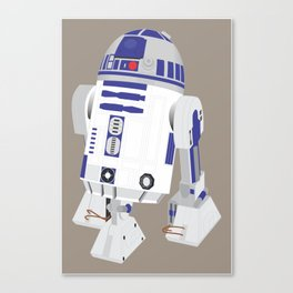 R2-D2 (Vector Art) Canvas Print