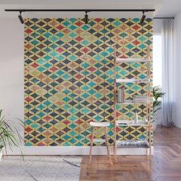 Colorful Geometric Pattern #02 Wall Mural