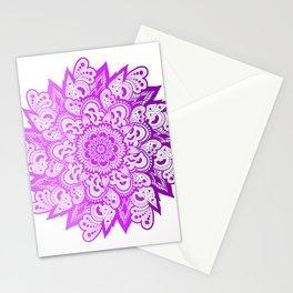 Gradient Mandala Stationery Cards