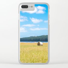 Myponga Bales Clear iPhone Case