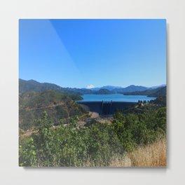 Shasta Lake View Metal Print