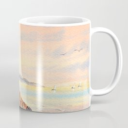 Lone Cypress Tree Pebble Beach California Coffee Mug