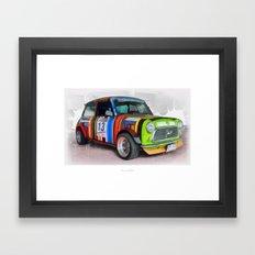 Cars: Mini #13 Framed Art Print