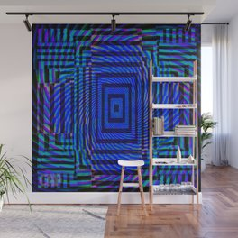 Optical Illusion Maze Wall Mural
