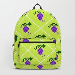 grape pattern Backpack