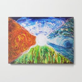 Elemental space  - Ria Metal Print