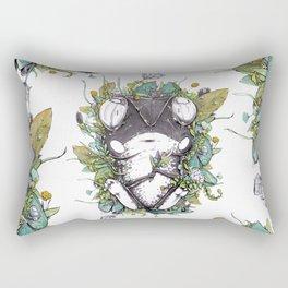 Waiting Here Rectangular Pillow