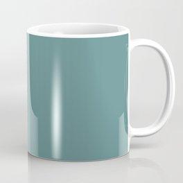 Steel Teal - solid color Coffee Mug