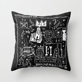 BASKEY BFLO Throw Pillow