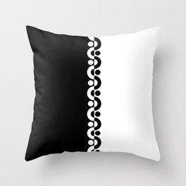 Black And White / Two Tone Modern Throw Pillow