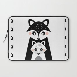 Family Portrait Laptop Sleeve