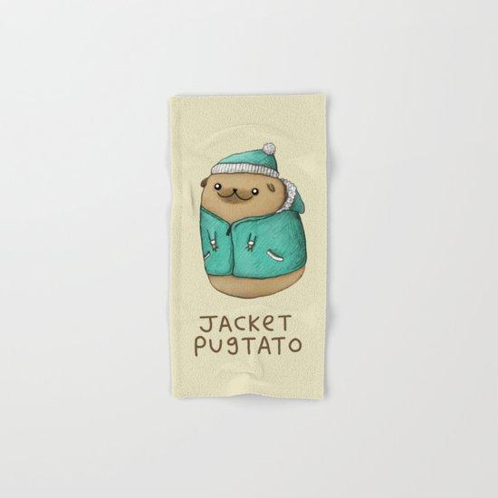 Jacket Pugtato Hand & Bath Towel