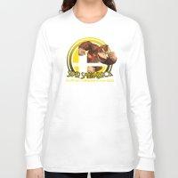 donkey kong Long Sleeve T-shirts featuring Donkey Kong - Super Smash Bros. by Donkey Inferno