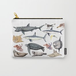Marine wildlife Carry-All Pouch