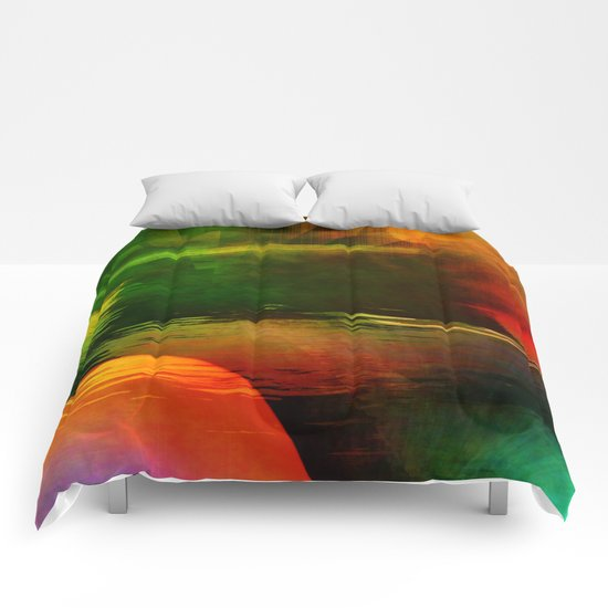 Multicolored abstract 2016 / 003 Comforters
